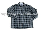 Latest 100% cotton stripes popular shirts for men