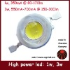1W high power led chip, up to 170lm/w, CRI up to 90
