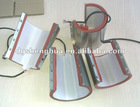 Mug heating element for mug heat press machines