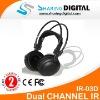 Sharing Digital High Quality Wireless IR Headphone For Car Audio Systems