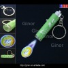 plastic keychain with projector flashlight