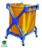 X-shape plastic hotel laundry cart