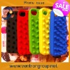 Colorful silicone water cases for iphone