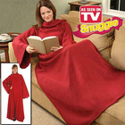 snug tv blanket with sleeves