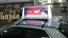Taxi light box/Taxi top ads trivision