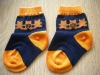 Jacquard Knitted Infant cute cotton socks