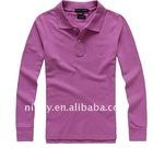 2011 Fashional Cotton women short sleeve polo Shirt