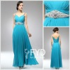 New Style Hot Sale V-neck Chiffon Evening Dress