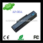 External Backup 12 Cells Battery for Laptop Acer 8800mAh 11.1V