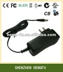 wall mount 4.2V 2A AC switching power adapter with EU BS AUS US Korean plug