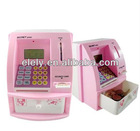 High quality mini plastic ATM money bank,promotional coin bank