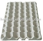 Molded pulp egg tray 40 cells/ egg holder