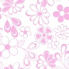 flower pattern cotton ironing board fabric