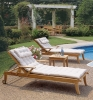 (W-L-3015) outdoor wooden Lounger Chair