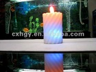eco-friendly decorative wax led candle