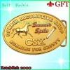 custom metal gold belt buckle GFT-BB1004