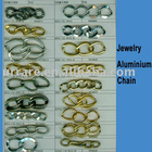 Gold or Silver Aluminium Chain for Jewelry DIY Making