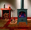 Free Standing Cast iron Wood Burning Stoves CS-STOVE-X1