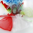 Free ship!!!1000pcs mixed color Jewelry Gift Organza bag 5x7cm 7x9cm 8x10cm 9x12cm 10x15cm