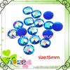 flat round shape lucite beads