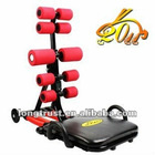 2012 Red Total Core sit-up exerciser with 4 springs (LT-AB023)