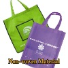 promotional pp Non-woven shopping bag folding bags