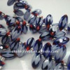 nation crystal earrings beads