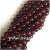 Natural 12mm garnet Gemstone beads GGB0015