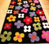 handmade flower design kids rugs