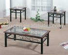 Modern tempered glass Coffee & Tea table