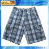 BU-011A Mens Walk Check Shorts