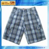 BU-011A Mens Walk Check Shorts