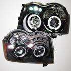 For Jeep Grand Cherokee 3 (wk) LED Head Light Angel Eyes 2005-08