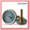 Hot water bimetal thermometer