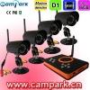 2.4GHz CCD Night Vision Wireless CCTV Camera