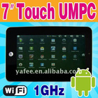 "7"" Touch TFT LCD Screen MID 4GB WEBCAM O-723"