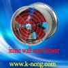 low noise wall-style blower/axial fan