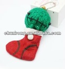 2012 new mini sitting doll handicraft fabric string Voodoo Dolls