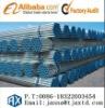 Pre- galvanized round steel pipe