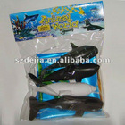 hot popular plastic sea animals toy set for child