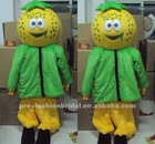 Hot Sale 2012 Popular Thanksgiving Day Pumpkin Mascot Costume