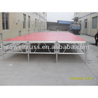 2010 Aluminum T-stage Mobile/ Movable Stage Display Equipment