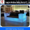 translucent acrylic LED furniture for home