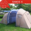 Large Family tunnel Tent, 6 person camping tent, outdoor tent