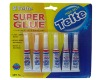 6pcs super fast glue