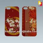 3d Custom designs plastic Covers for iPhone 5 OEM