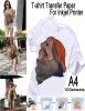 A4 T-shirt transfer paper for Inkjet Printer