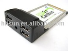 PCMCIA Cardbus 4Ports USB2.0 HUB for Laptops Adaptor