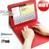 2 in 1 Bluetooth Keyboard For iPad 2 With Leather Case (Letters For Different Country All Acceptable)