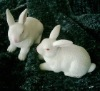 New Pairs of Rabbit Bunny Statue RYFL07